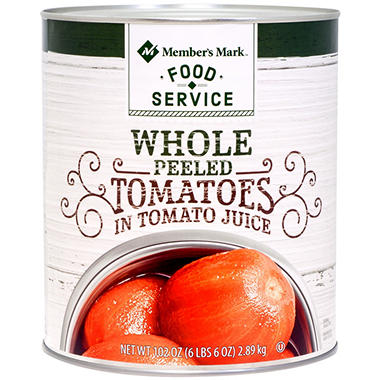 Bakers & Chefs Whole Peeled Tomatoes - 102 oz.