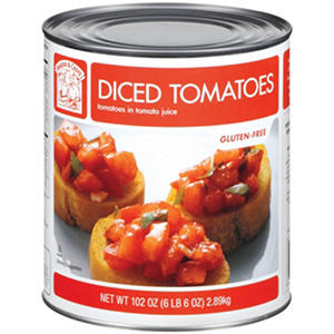 Bakers & Chefs Diced Tomatoes - 102 oz. can