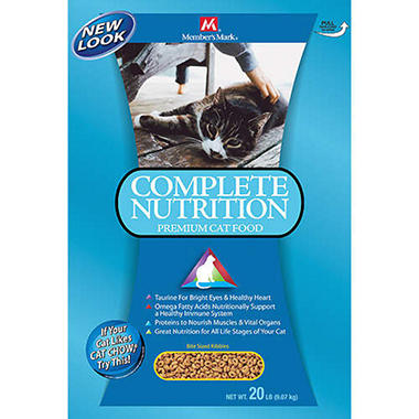 Member's Mark® Adult Cat Complete Food -20lb