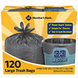 Black Garbage Bags