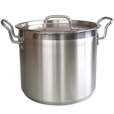 24 qt. Aluminum Stockpot