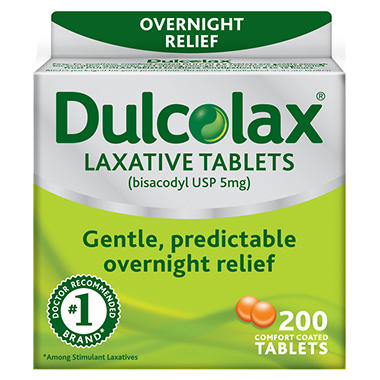 Dulcolax Laxative Tablets - 200 ct.