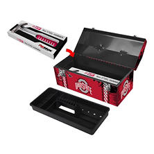 Ohio State Buckeyes Steel Hammer and Tool Box Combo