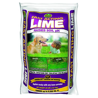 Fast Acting Lime - 40lb