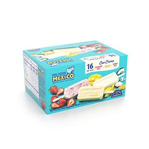 Helados Mexico Ice Cream Bars - Fruit - 3 oz. - 16 pk.