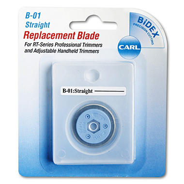 CARL - Bidex Straight Blade for Personal/Professional Rotary Trimmers