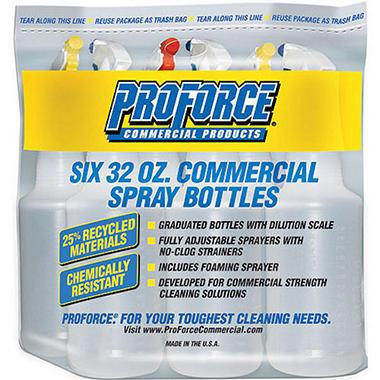 ProForce Commercial Spray Bottles - 6 Pack