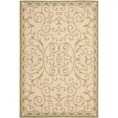 Safavieh Rug Courtyard Scrollwork Sam s Club