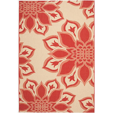 Safavieh Rug Courtyard Petal Power