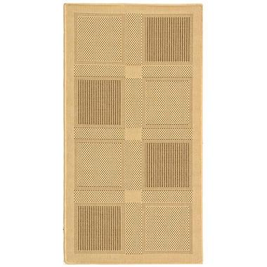 Courtyard Rug - Nautural/Brown  - 4' × 5'7
