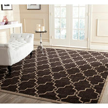 Newport Collection Area Rug 8' x 10' - Chocolate Wheat