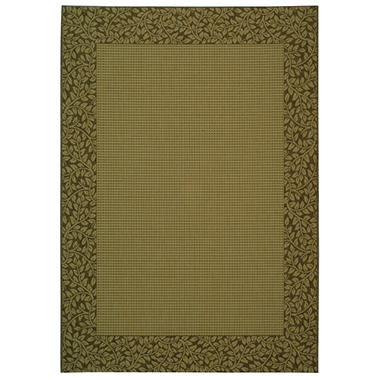 Courtyard Rug - Natural/Brown - 4' x 5'7