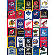 "NHL Banner Stickers - 3"" x 4"" - 32 ct."