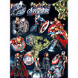 "Avengers Temporary Tattoos - 3"" x 4"" - 10 ct."