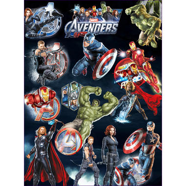 Avengers Temporary Tattoos - 3