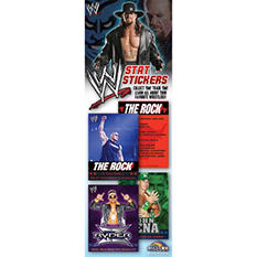 WWE Stat Stickers - 300 pc.