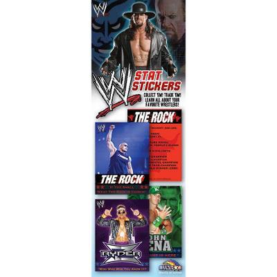 WWE Stat Stickers - 300 pc.