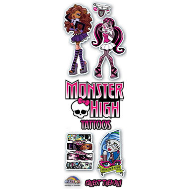 Monster High Tattoos - 300 pc.