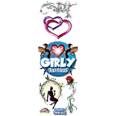 Girly Tattoos - 300 pc.