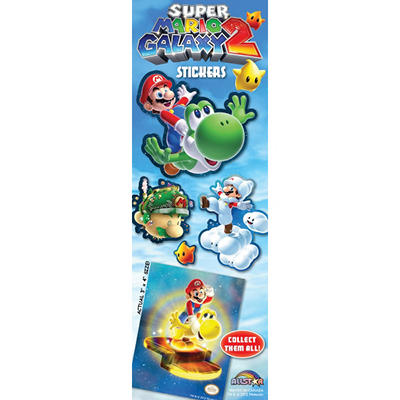 Super Mario Galaxy Stickers - 300 pc.