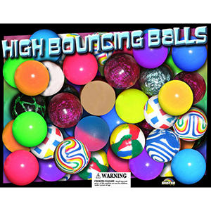 Allstar 27mm Assorted Bouncy Balls -  Basic Style