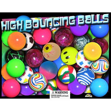 Allstar 27mm Assorted Bouncy Balls -  Premium Style