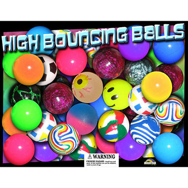 Allstar 27mm Assorted Bouncy Balls -  Premium Style