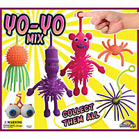 "2"" Capsules - Assorted Yoyo Toys (250 ct.)"