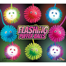 "2"" Capsules - Flashing Puffer Balls (250 ct.)"