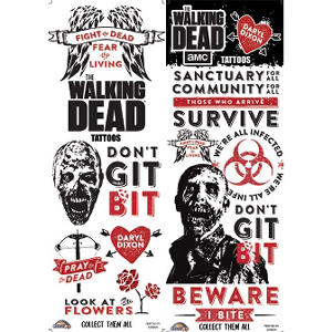 The Walking Dead Tattoos (300 ct.)
