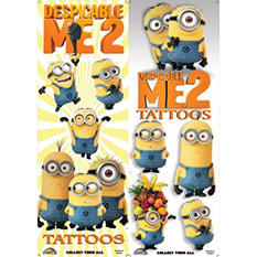 Despicable Me Tattoos (300 ct.)