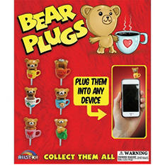 "Bear Cell Phone Plugs 2"" Capsules ( 250 ct)"
