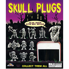 "Skull Cell Phone Plugs 2"" Capsules ( 250 ct.)"