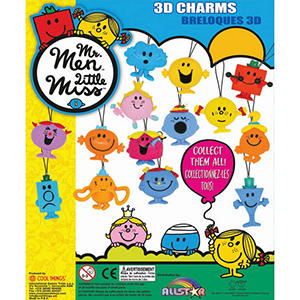 "Mister Men / Little Miss Danglers 2"" Capsules ( 200 ct.)"