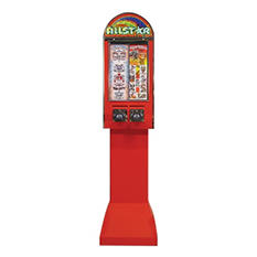 Allstar 2 Column Sticker Machine with Stand