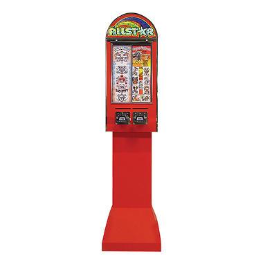 Allstar 2 Column Sticker Machine with Stand