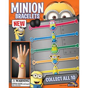 """Minions Bracelets - 2"""" Capsule"""