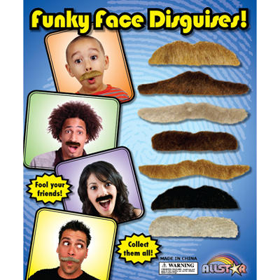 "Moustaches - 1"" Capsules - 250 ct."