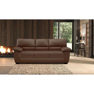 Natuzzi Cara Leather Sofa - Sam's Club