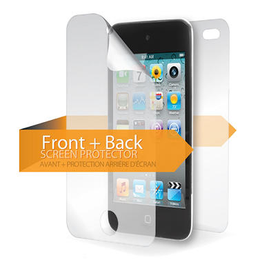 Griffin TotalGuard Level 2 Self Healing Skin Screen Protector for iPod touch - Front & Back