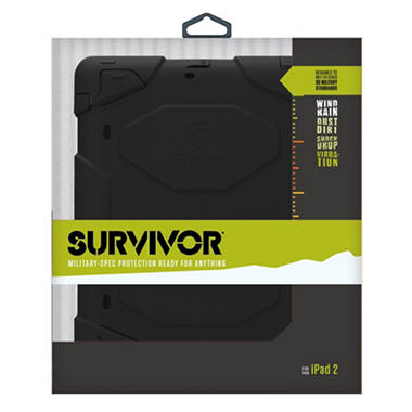 Griffin Survivor All-Terrain Case w/ Stand for iPad 1, 2 and 3