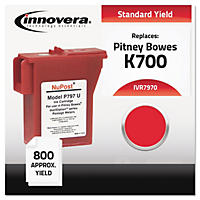 Innovera® Compatible with 797-0 Postage Meter, 800 Page-Yield, Red