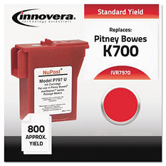 Innovera - 7970 Compatible, Remanufactured, 797-0 Postage Meter,  800 Page Yield - Red