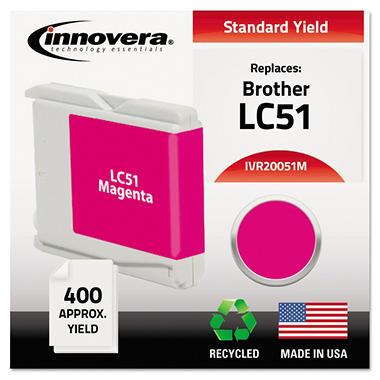 Innovera® Remanufactured LC51M Ink, Magenta