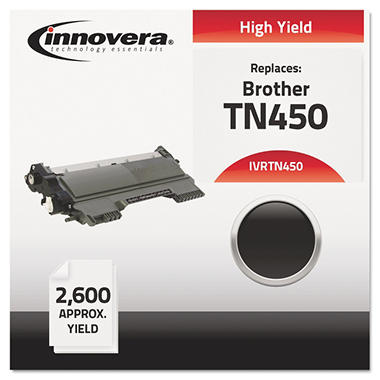 Innovera® Remanufactured TN450 High-Yield Toner, Black