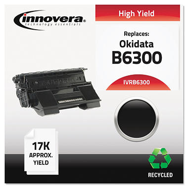 Innovera® Remanufactured 52114502 (B6300) High-Yield Toner, Black