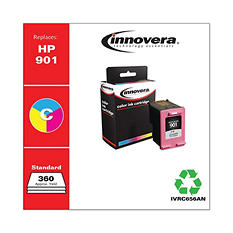 Innovera® Remanufactured CC656AN (901) Ink, 360 Page-Yield, Tri-Color
