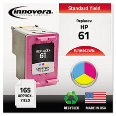 Innovera® Remanufactured CH562WN (61) Ink, Tri-Color