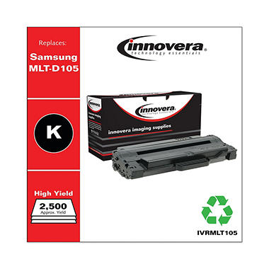 Innovera® Remanufactured MLT-D105L High-Yield Toner, Black