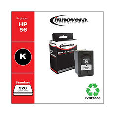 Innovera® Remanufactured C6656AN (56) Ink, Black